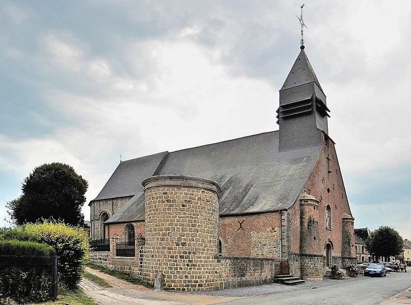 Photo du Monument Historique Eglise Saint-Lambert situé à Liessies