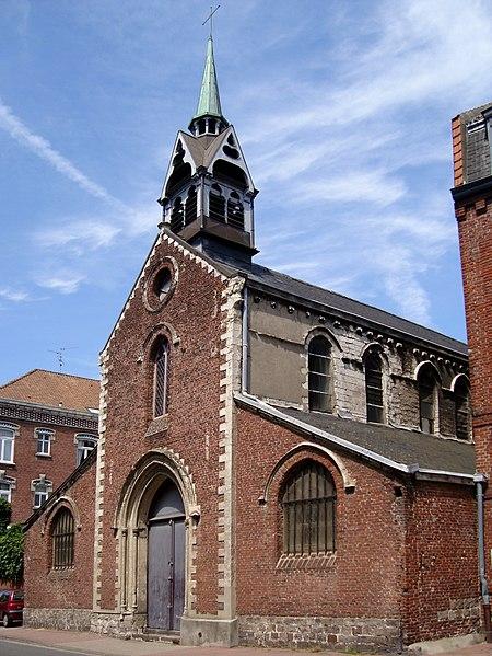 Photo du Monument Historique Chapelle Notre-Dame-de-la-Réconciliation situé à Lille