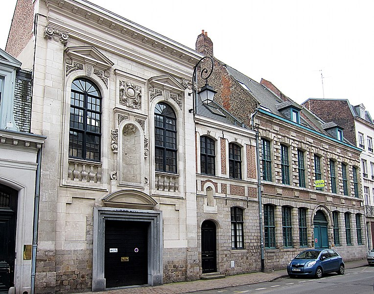 Photo du Monument Historique Ancien couvent des Madelonnettes situé à Lille