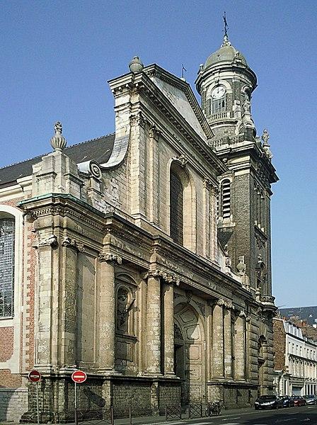 Photo du Monument Historique Eglise Saint-André situé à Lille