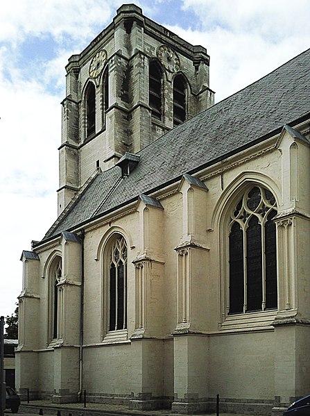 Photo du Monument Historique Eglise Sainte-Catherine situé à Lille