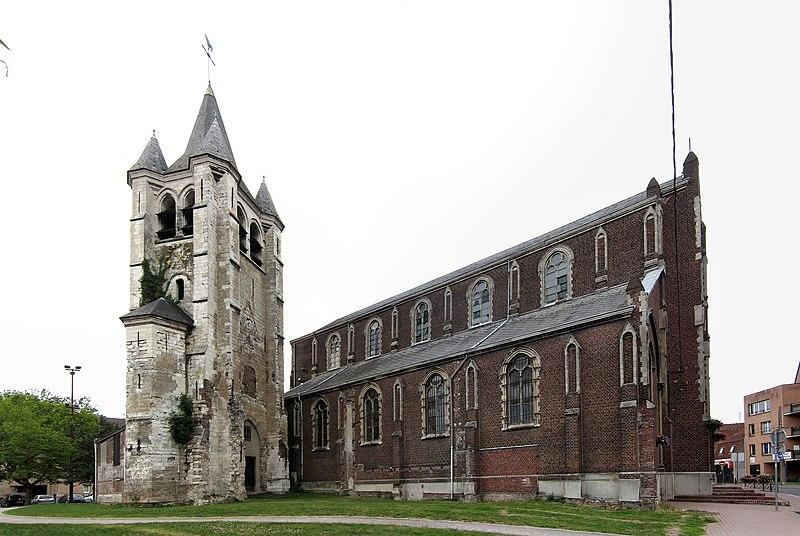 Photo du Monument Historique Eglise Saint-Denis-d'Hellemmes situé à Lille