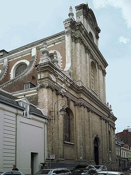 Photo du Monument Historique Eglise Saint-Etienne situé à Lille