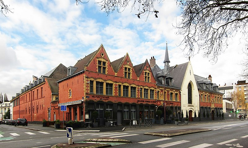Photo du Monument Historique Hospice Ganthois situé à Lille