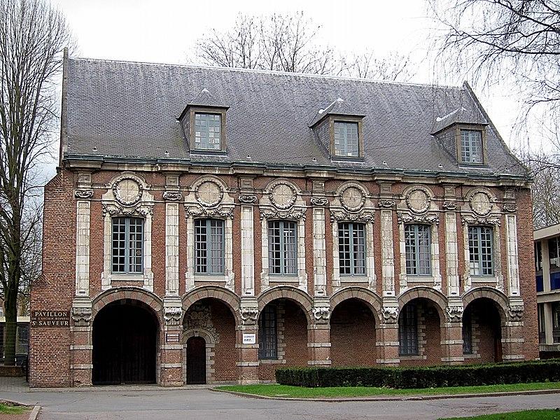 Photo du Monument Historique Hôpital Saint-Sauveur situé à Lille