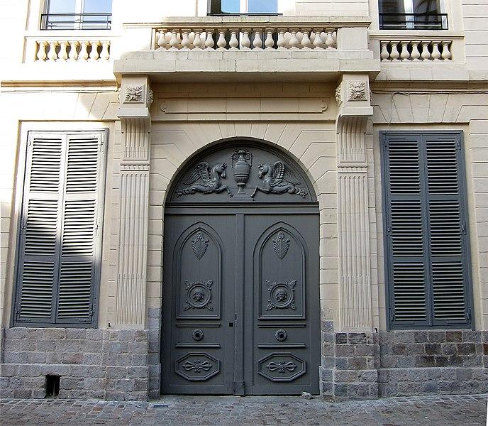 Photo du Monument Historique Hôtel Bidé de la Grandville situé à Lille