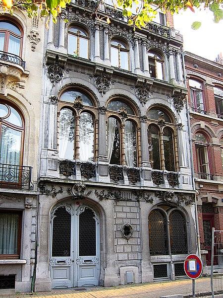 Photo du Monument Historique Hôtel Castiaux situé à Lille