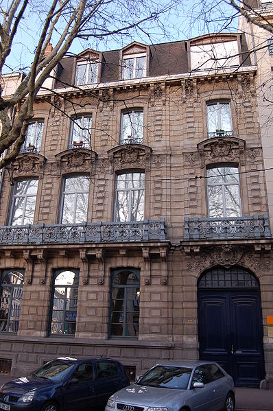 Photo du Monument Historique Hôtel Delbecque situé à Lille