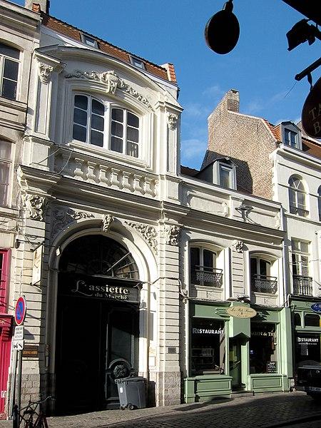 Photo du Monument Historique Ancien Hôtel du Juge Garde des Monnaies situé à Lille