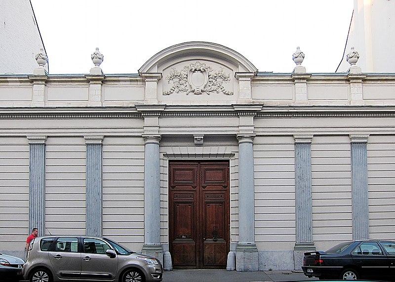 Photo du Monument Historique Hôtel de Lamissart situé à Lille