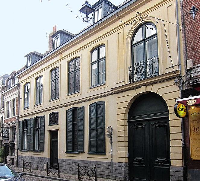 Photo du Monument Historique Hôtel de Madre situé à Lille