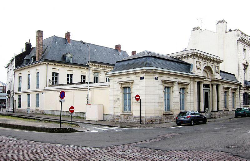 Photo du Monument Historique Hôtel Petipas de Walle situé à Lille