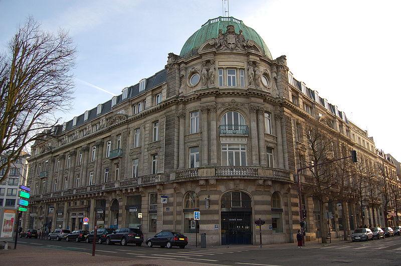 Photo du Monument Historique Hôtel des Postes situé à Lille