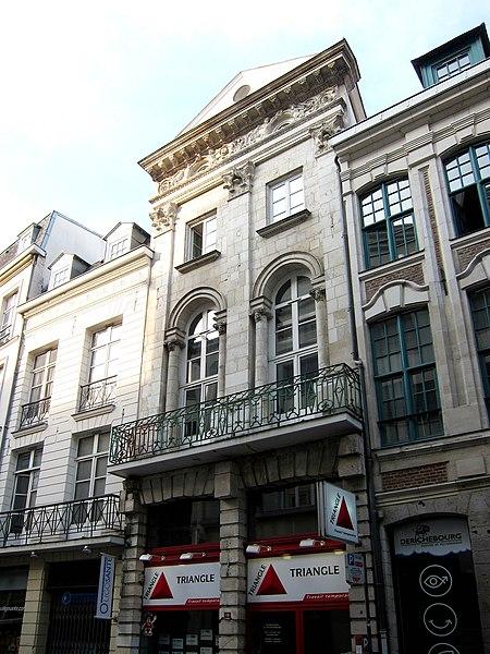 Photo du Monument Historique Hôtel Ramery situé à Lille