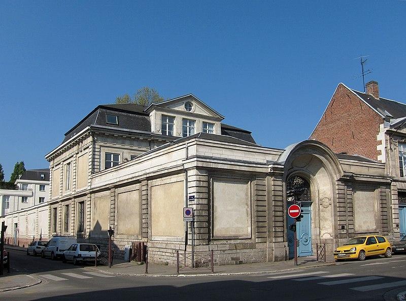 Photo du Monument Historique Hôtel Van der Cruisse de Waziers situé à Lille
