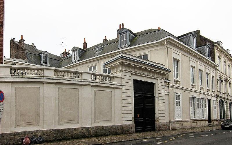 Photo du Monument Historique Hôtel Van Zeller situé à Lille