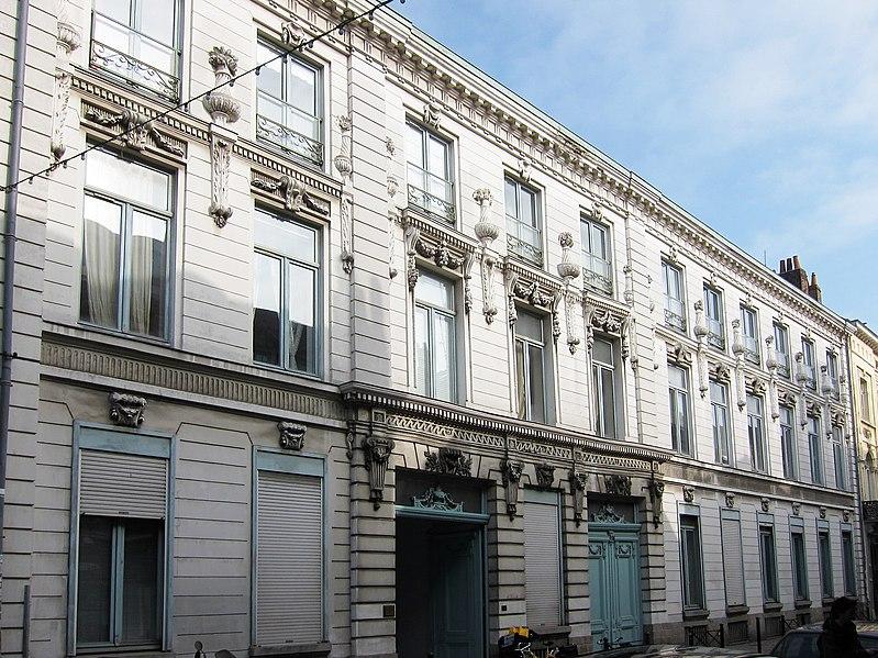 Photo du Monument Historique Ancien hôtel situé à Lille