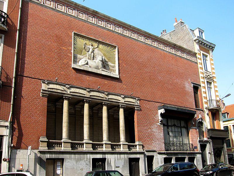 Photo du Monument Historique Immeuble, siège du Cercle Phylosophique et Culturel situé à Lille
