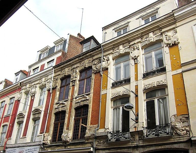 Photo du Monument Historique Immeubles situé à Lille