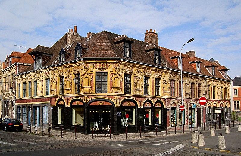Photo du Monument Historique Maison de Gilles de la Boe, dite aussi du Bon Bouillon situé à Lille