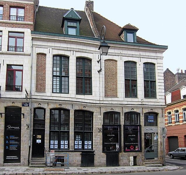 Photo du Monument Historique Maisons situé à Lille