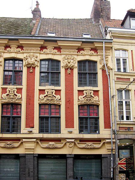 Photo du Monument Historique Maison situé à Lille