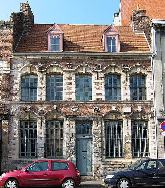 Photo du Monument Historique Maison dite des Vieux Hommes situé à Lille