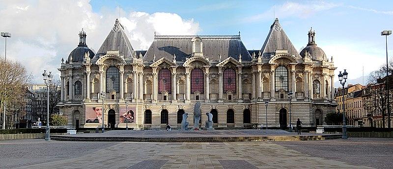 Photo du Monument Historique Palais des Beaux-Arts situé à Lille