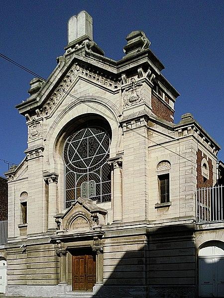 Photo du Monument Historique Synagogue situé à Lille