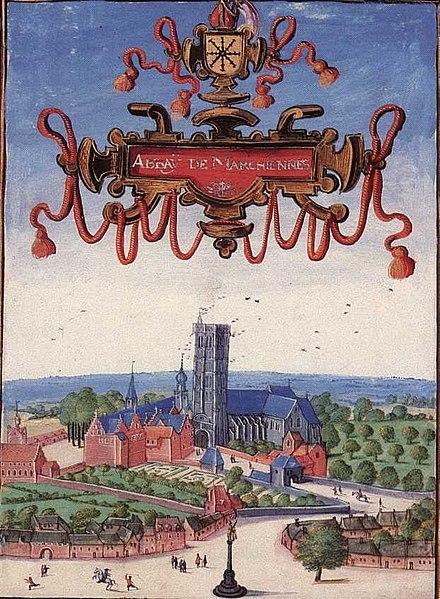 Photo du Monument Historique Ancienne abbaye situé à Marchiennes