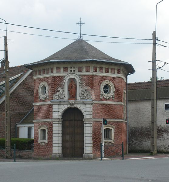 Photo du Monument Historique Chapelle octogonale situé à Marcq-en-Baroeul