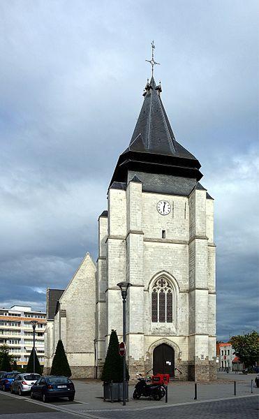 Photo du Monument Historique Eglise Saint-Vincent situé à Marcq-en-Baroeul