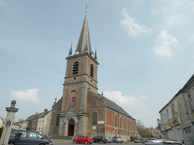 Photo du Monument Historique Eglise Saint-Humbert situé à Maroilles