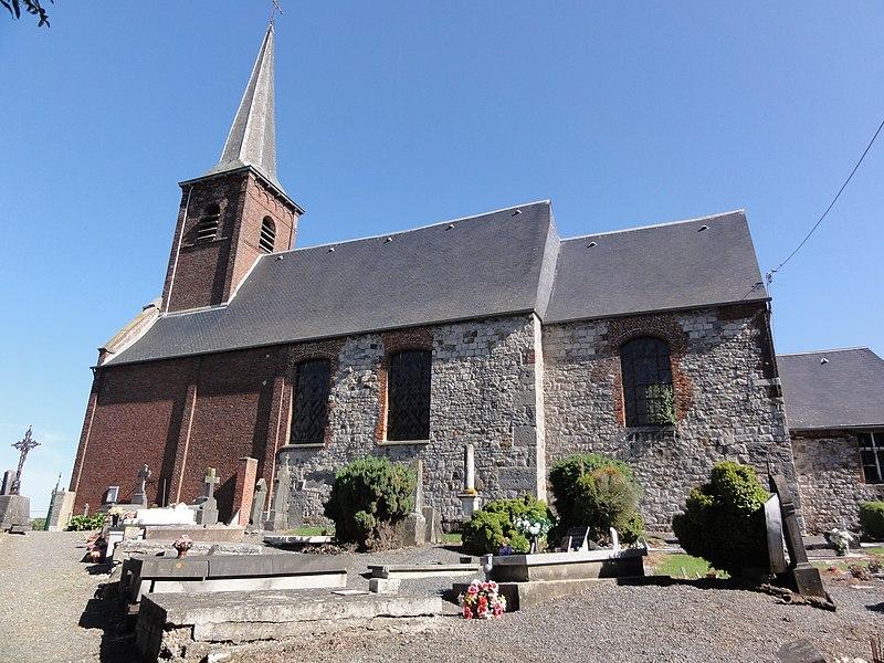 Photo du Monument Historique Eglise Saint-Achard situé à Mecquignies