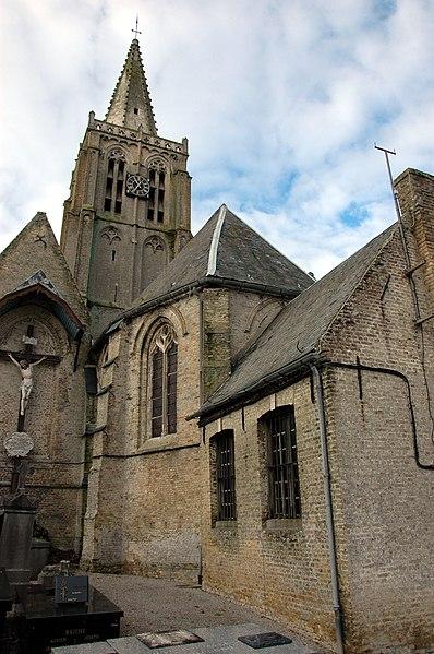 Photo du Monument Historique Eglise et cimetière qui l'entoure situé à Millam