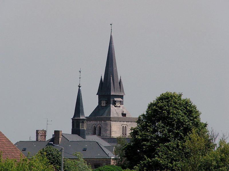 Photo du Monument Historique Eglise Saint-Firmin situé à Morbecque