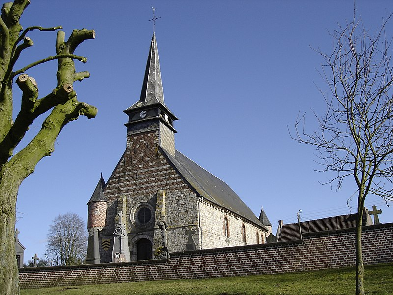 Photo du Monument Historique Eglise Sainte-Elisabeth situé à Neuville-en-Avesnois