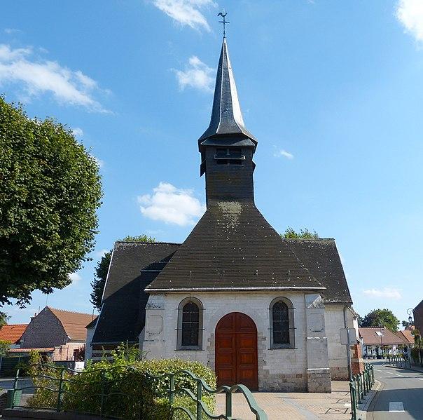 Photo du Monument Historique Eglise Saint-Martin situé à Noyelles-lès-Seclin