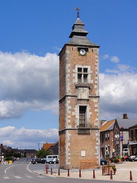 Photo du Monument Historique Ancienne tour du Guet situé à Pont-sur-Sambre