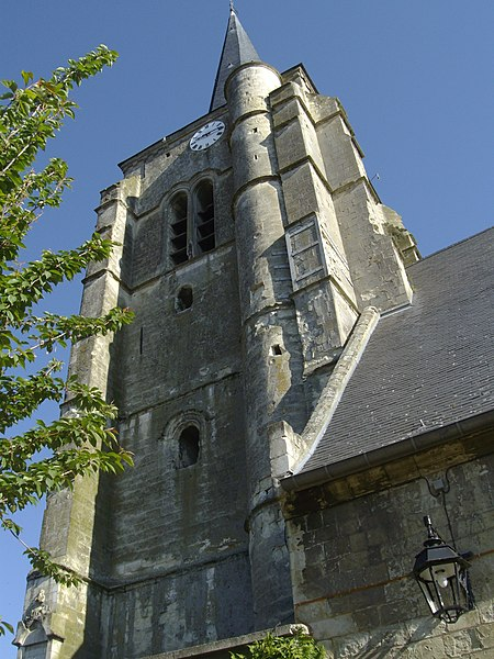 Photo du Monument Historique Eglise situé à Rieux-en-Cambrésis