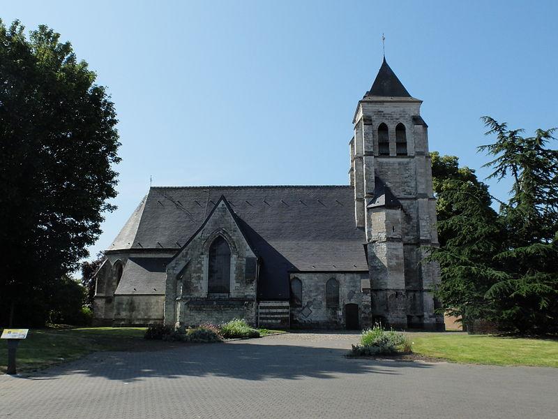 Photo du Monument Historique Eglise Sainte-Rictrude situé à Ronchin