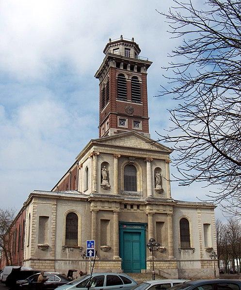 Photo du Monument Historique Eglise Notre-Dame situé à Roubaix