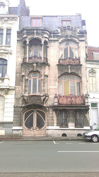 Photo du Monument Historique Maison situé à Roubaix