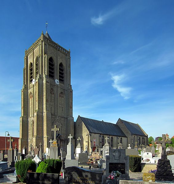 Photo du Monument Historique Eglise Saint-Sylvestre situé à Rubrouck