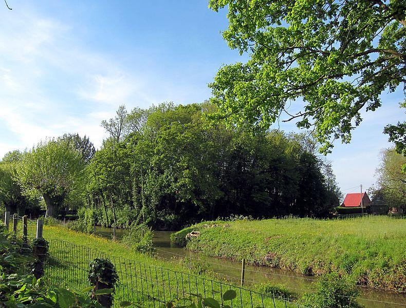 Photo du Monument Historique Motte féodale situé à Rubrouck