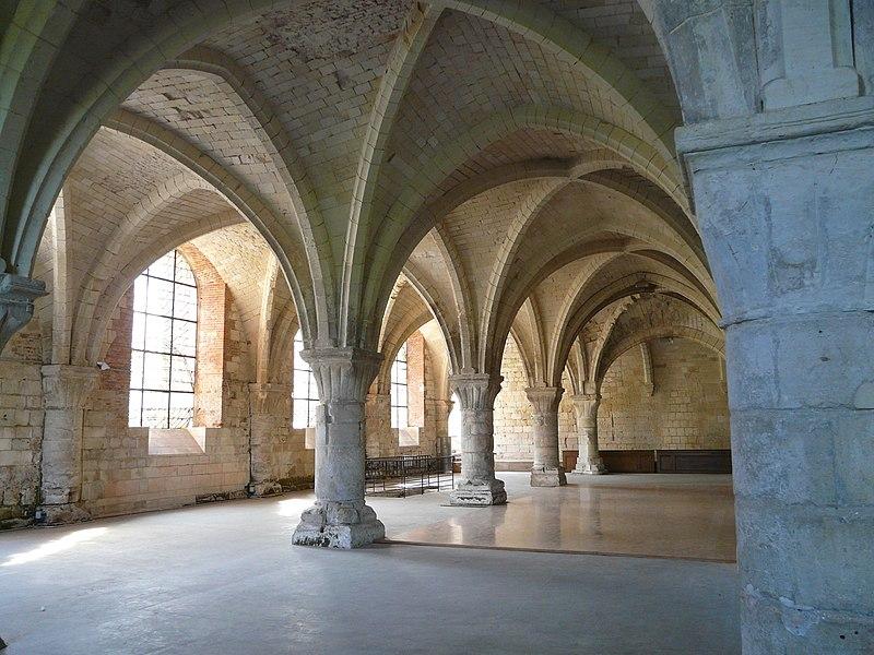 Photo du Monument Historique Abbaye de Vaucelles situé à Les Rues-des-Vignes