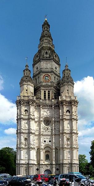 Photo du Monument Historique Ancienne église abbatiale situé à Saint-Amand-les-Eaux