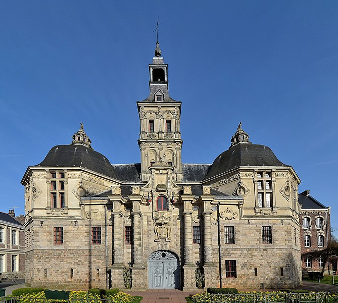Photo du Monument Historique Hôtel de ville situé à Saint-Amand-les-Eaux