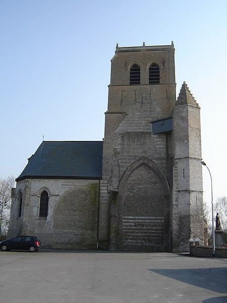 Photo du Monument Historique Eglise situé à Saint-Georges-sur-l'Aa