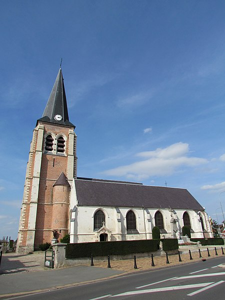 Photo du Monument Historique Eglise situé à Santes